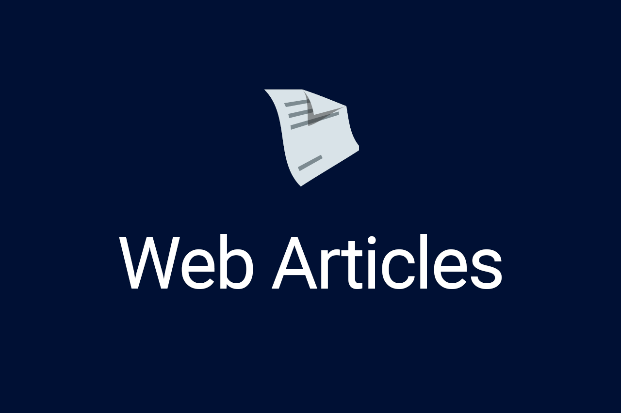 Web Articles